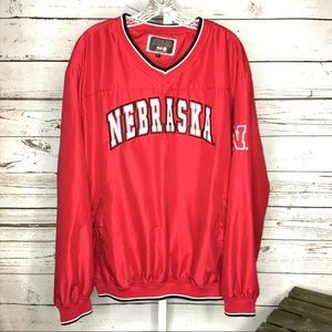 Colosseum Athletics Nebraska pullover size Large